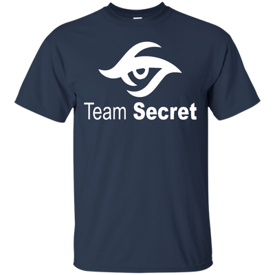 CustomCat Apparel Custom Ultra Cotton T-Shirt / Navy / Small Dota 2 Team Secret Tee