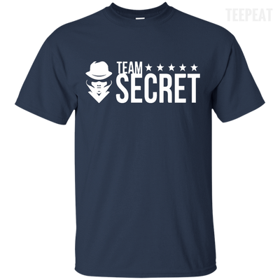 CustomCat Apparel Custom Ultra Cotton T-Shirt / Navy / Small Dota 2 Team Secret Tee V2