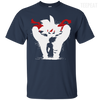 CustomCat Apparel Custom Ultra Cotton T-Shirt / Navy / Small Dragon Ball Z Bardock Tee