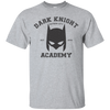 CustomCat Apparel Custom Ultra Cotton T-Shirt / Sport Grey / Small Dark Knight Academy Tee