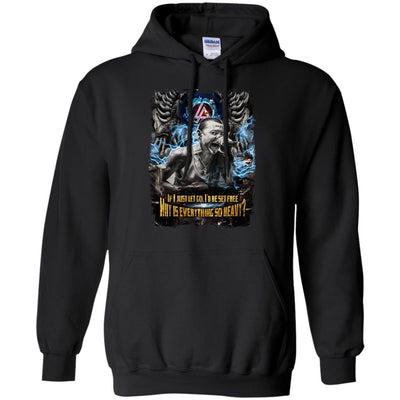 CustomCat Apparel G185 Gildan Pullover Hoodie 8 oz. / Black / Small Chester Tee