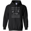 CustomCat Apparel G185 Gildan Pullover Hoodie 8 oz. / Black / Small Darth - Ugly Sweater