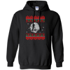CustomCat Apparel G185 Gildan Pullover Hoodie 8 oz. / Black / Small Death Star - Ugly Sweater