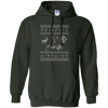 CustomCat Apparel G185 Gildan Pullover Hoodie 8 oz. / Forest Green / Small Darth - Ugly Sweater