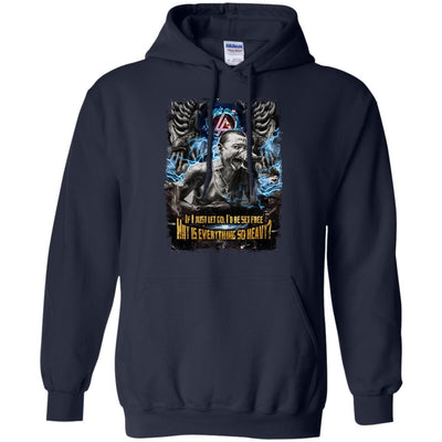 CustomCat Apparel G185 Gildan Pullover Hoodie 8 oz. / Navy / Small Chester Tee