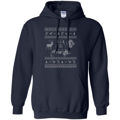 CustomCat Apparel G185 Gildan Pullover Hoodie 8 oz. / Navy / Small Darth - Ugly Sweater