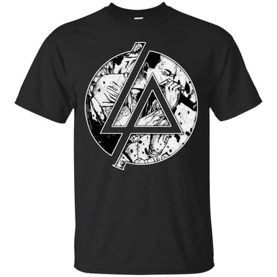 CustomCat Apparel G200 Gildan Ultra Cotton T-Shirt / Black / Small Chester Linkin Park Logo Tee
