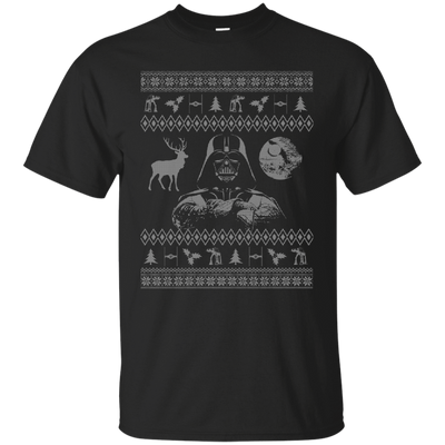CustomCat Apparel G200 Gildan Ultra Cotton T-Shirt / Black / Small Darth - Ugly Sweater