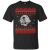 CustomCat Apparel G200 Gildan Ultra Cotton T-Shirt / Black / Small Death Star - Ugly Sweater