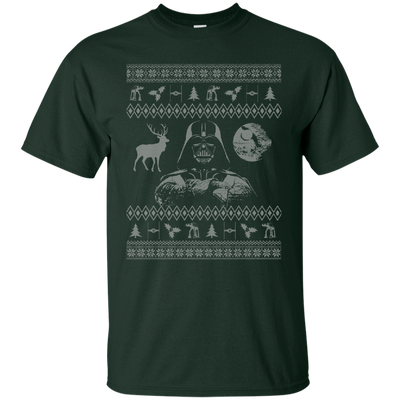CustomCat Apparel G200 Gildan Ultra Cotton T-Shirt / Forest Green / Small Darth - Ugly Sweater