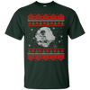 CustomCat Apparel G200 Gildan Ultra Cotton T-Shirt / Forest Green / Small Death Star - Ugly Sweater