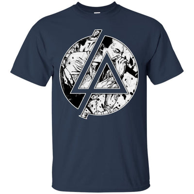 CustomCat Apparel G200 Gildan Ultra Cotton T-Shirt / Navy / Small Chester Linkin Park Logo Tee