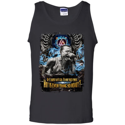 CustomCat Apparel G220 Gildan 100% Cotton Tank Top / Black / Small Chester Tee