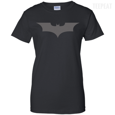 CustomCat Apparel Ladies Custom 100% Cotton T-Shirt / Black / X-Small Dark Knight