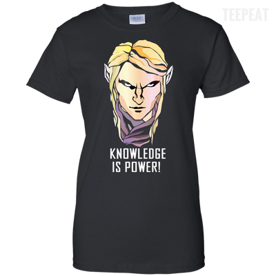 CustomCat Apparel Ladies Custom 100% Cotton T-Shirt / Black / X-Small Dota 2 Invoker Ladies Tee