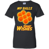 CustomCat Apparel Ladies Custom 100% Cotton T-Shirt / Black / X-Small Dragon Ball Z Grant Wishes Ladies Tee