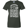CustomCat Apparel Ladies Custom 100% Cotton T-Shirt / Forest Green / X-Small Brotherhood Ladies Tee