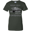 CustomCat Apparel Ladies Custom 100% Cotton T-Shirt / Forest Green / X-Small Cakehole Ladies Tee