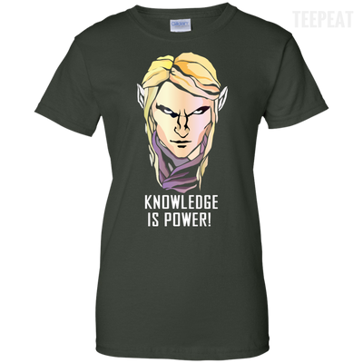 CustomCat Apparel Ladies Custom 100% Cotton T-Shirt / Forest Green / X-Small Dota 2 Invoker Ladies Tee