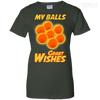 CustomCat Apparel Ladies Custom 100% Cotton T-Shirt / Forest Green / X-Small Dragon Ball Z Grant Wishes Ladies Tee