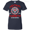 CustomCat Apparel Ladies Custom 100% Cotton T-Shirt / Navy / X-Small Akatsuki Organization Ladies Tee