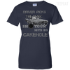 CustomCat Apparel Ladies Custom 100% Cotton T-Shirt / Navy / X-Small Cakehole Ladies Tee