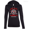 CustomCat Apparel Ladies LS T-Shirt Hoodie / Black/Dark Grey / Small Akatsuki Organization Ladies Tee