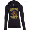 CustomCat Apparel Ladies LS T-Shirt Hoodie / Black/Dark Grey / Small Aquaman Swimming Team Ladies Tee
