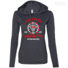 CustomCat Apparel Ladies LS T-Shirt Hoodie / Heather Dark Grey/Dark Grey / Small Akatsuki Organization Ladies Tee
