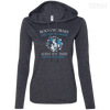 CustomCat Apparel Ladies LS T-Shirt Hoodie / Heather Dark Grey/Dark Grey / Small Bookworms Will Rule The World Ladies Tee