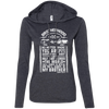 CustomCat Apparel Ladies LS T-Shirt Hoodie / Heather Dark Grey/Dark Grey / Small Brotherhood Ladies Tee