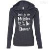 CustomCat Apparel Ladies LS T-Shirt Hoodie / Heather Dark Grey/Dark Grey / Small Don't Let The Muggles Get You Down Ladies Tee