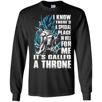 CustomCat Apparel LS Ultra Cotton Tshirt / Black / Small A Throne Tee