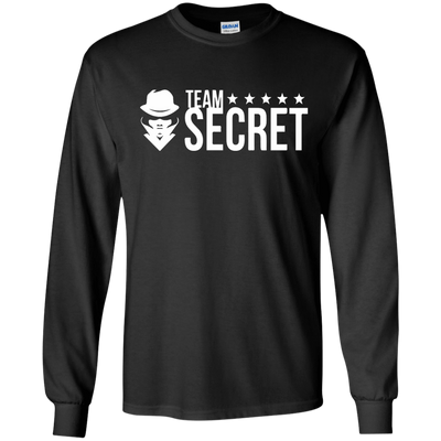 CustomCat Apparel LS Ultra Cotton Tshirt / Black / Small Dota 2 Team Secret Tee V2