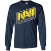 CustomCat Apparel LS Ultra Cotton Tshirt / Navy / Small Dota 2 Na`Vi Tee