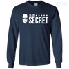 CustomCat Apparel LS Ultra Cotton Tshirt / Navy / Small Dota 2 Team Secret Tee V2