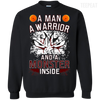 CustomCat Apparel Printed Crewneck Pullover Sweatshirt  8 oz / Black / Small DBZ - Monster Vegeta Tee