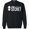CustomCat Apparel Printed Crewneck Pullover Sweatshirt  8 oz / Black / Small Dota 2 Team Secret Tee V2
