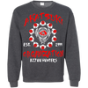 CustomCat Apparel Printed Crewneck Pullover Sweatshirt  8 oz / Dark Heather / Small Akatsuki Organization Tee