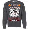 CustomCat Apparel Printed Crewneck Pullover Sweatshirt  8 oz / Dark Heather / Small DBZ - Monster Vegeta Tee