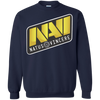 CustomCat Apparel Printed Crewneck Pullover Sweatshirt  8 oz / Navy / Small Dota 2 Na`Vi Tee