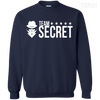 CustomCat Apparel Printed Crewneck Pullover Sweatshirt  8 oz / Navy / Small Dota 2 Team Secret Tee V2