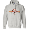 CustomCat Apparel Pullover Hoodie 8 oz / Ash / Small Captain Pulse Ligth Tee