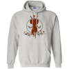 CustomCat Apparel Pullover Hoodie 8 oz / Ash / Small Deadpool Pulse Light Tee