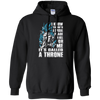 CustomCat Apparel Pullover Hoodie 8 oz / Black / Small A Throne Tee