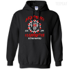 CustomCat Apparel Pullover Hoodie 8 oz / Black / Small Akatsuki Organization Tee