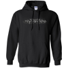 CustomCat Apparel Pullover Hoodie 8 oz / Black / Small Bat Pulse Tee
