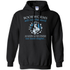 CustomCat Apparel Pullover Hoodie 8 oz / Black / Small Bookworms Will Rule The World Tee
