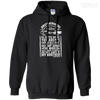 CustomCat Apparel Pullover Hoodie 8 oz / Black / Small Brotherhood Tee