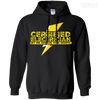 CustomCat Apparel Pullover Hoodie 8 oz / Black / Small Certified Electrician Tee